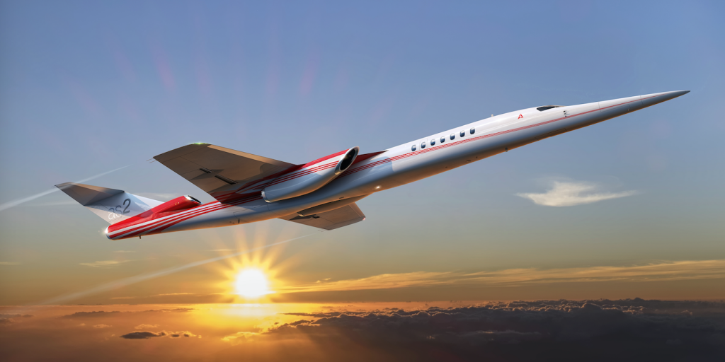 Süpersonik Jet : Aerion A2